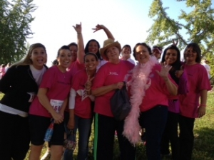 Susan G Komen Breast Cancer Walk